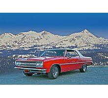 1965 Chevelle Malibu Convertible Photographic Print