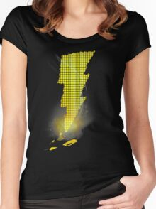 Shazam IV's Women's Fitted Scoop T-Shirt