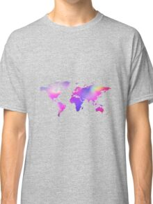 Holographic map Classic T-Shirt