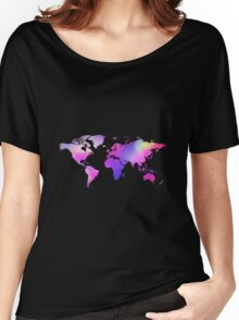 Holographic map Women's Relaxed Fit T-Shirt