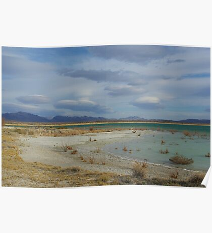 Crystal Reservoir, Nevada Poster