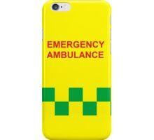 Emergency Ambulance iPhone Case/Skin