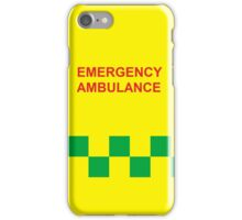Emergency Ambulance iPhone Case/Skin