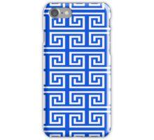 Ancient Greek pattern background iPhone Case/Skin
