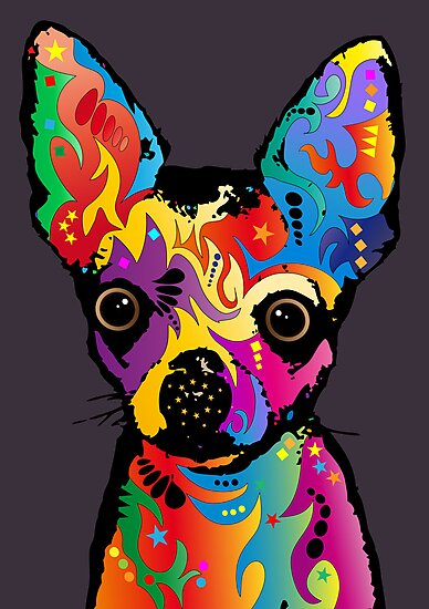 Chihuahua Dog by Michael Tompsett