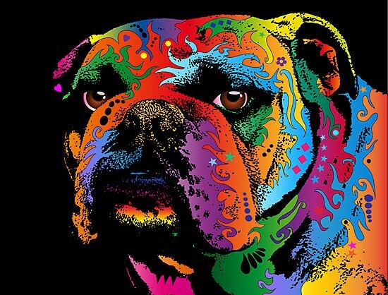 Bulldog by Michael Tompsett