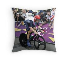 Sir Bradley Wiggins Throw Pillow