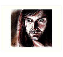 Aidan Turner, KILI Art Print