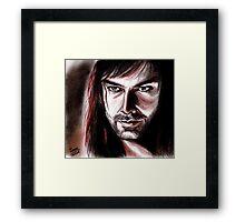 Aidan Turner, KILI Framed Print