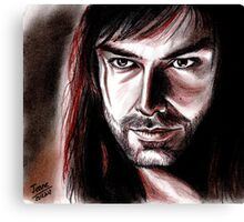 Aidan Turner, KILI Canvas Print