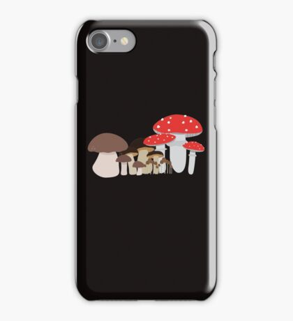 Forest Mushrooms iPhone Case/Skin
