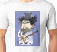 Caricature of Bob Dylan Unisex T-Shirt