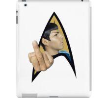 Spock Off iPad Case/Skin