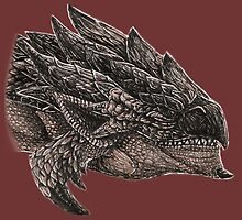 Monster Hunter Rathalos by ChickenChaserLH