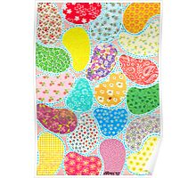 COMPOSITION OF CUT SHEETS AND DECORATIVE PAPER Poster