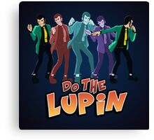 Do the Lupin Canvas Print
