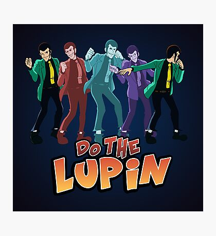 Do the Lupin Photographic Print