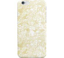White Zodiac iPhone Case/Skin