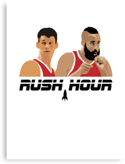 James Harden Jeremy Lin Rush Hour by pg-flow