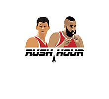 James Harden Jeremy Lin Rush Hour Photographic Print