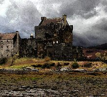 Eilean Donan Castle by dombrown