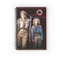 Just a Kid   Eponine & Gavroche Spiral Notebook