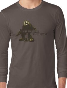 Bioshock: Are you there, Mr. Bubbles? Long Sleeve T-Shirt