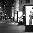 Fashion ad in black and white by pahas