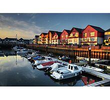 Exmouth Marina  Photographic Print