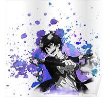 Blue Exorcist Rin Poster