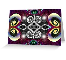 Tut50#11: Color My World (G1018) Greeting Card