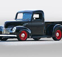 194 Ford Deluxe 8 Pickup by DaveKoontz