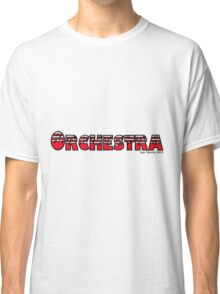 Orchestra Red Classic T-Shirt