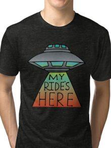 My Ride's Here Tri-blend T-Shirt