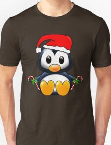 Cute Cartoon Christmas Penguin T-Shirt