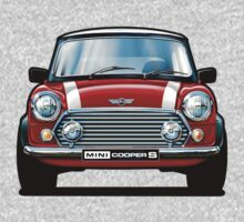 Mini Cooper S in Red Kids Clothes