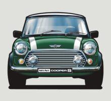 Mini Cooper S in Green by davidkyte
