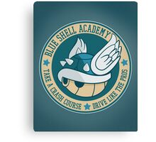 Blue Shell Academy Canvas Print