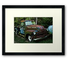 52 or 53 Chevy PU Framed Print