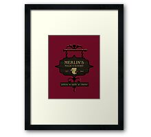 Camelot's One Stop Magic Shoppe Framed Print