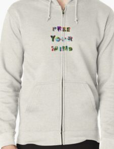 FREE YOUR MIND '16 Zipped Hoodie