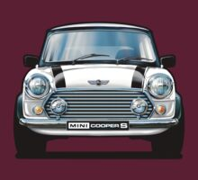Mini Copper S in White by davidkyte