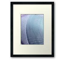 Windscreen frost 1 Framed Print