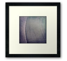 Windscreen frost 2 Framed Print
