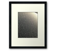 Windscreen frost 3 Framed Print