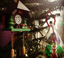 Christmas tree decorations by Robert Steadman