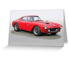 1961 Ferrari 250 GT SWB Greeting Card