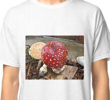 Collecting Mushrooms---Amanita Muscaria Classic T-Shirt