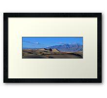 Mesquite Sand Dunes... distant Framed Print