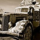 Painted Truck at Salvation Mountain, California  by Jessica Karran